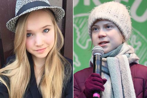 """19岁的她和""""气候少女""""唱反调"""