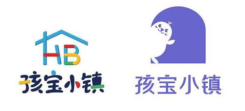 孩宝小镇发布全新logo,拱门元素寓意探索