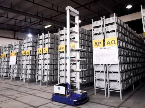 又一智能仓落成!海柔创新助力顺丰DHL一周内打造上海自动化仓