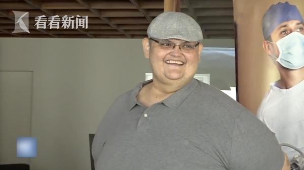 世界上最胖的男人_减肥330kg!世界最胖男子3次缩胃后能下床了