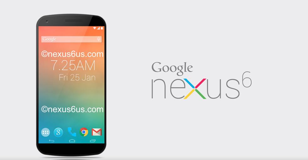 谷歌于本月推出5.9英寸的Nexus 6