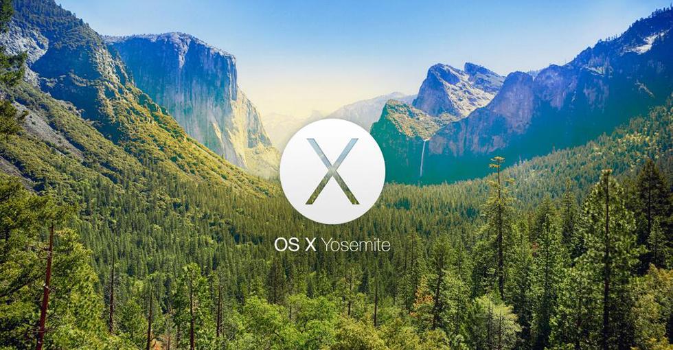 苹果新桌面系统OS X Yosemite正式开放下载