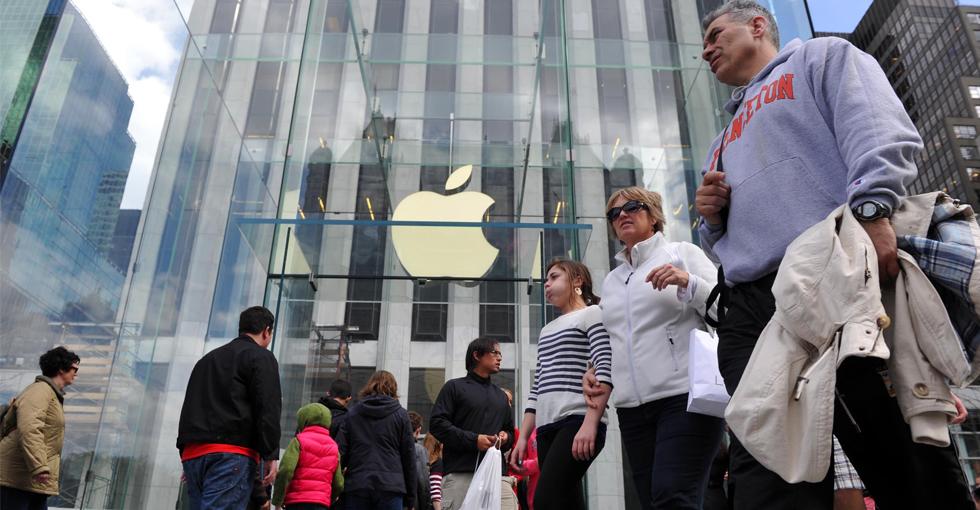 科技大事件:苹果股价持续走高 有望破顶