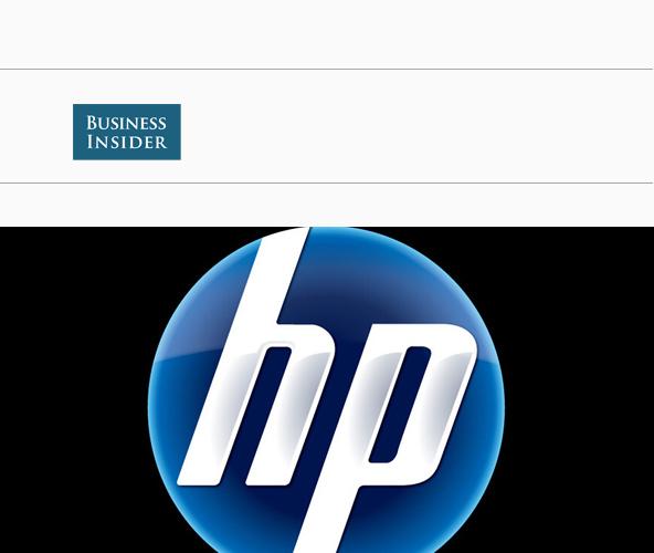 惠普logo 矢量