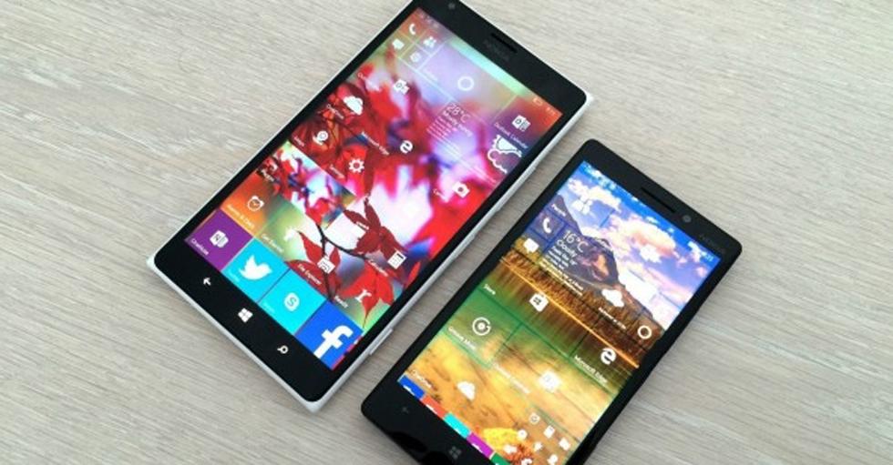 科技大事件:微软向部分WP 8.1设备推送Win10 Mobile