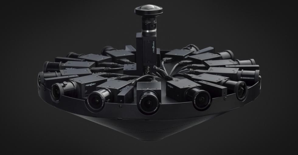 科技大事件:Facebook发布Surround 360度全景摄像机