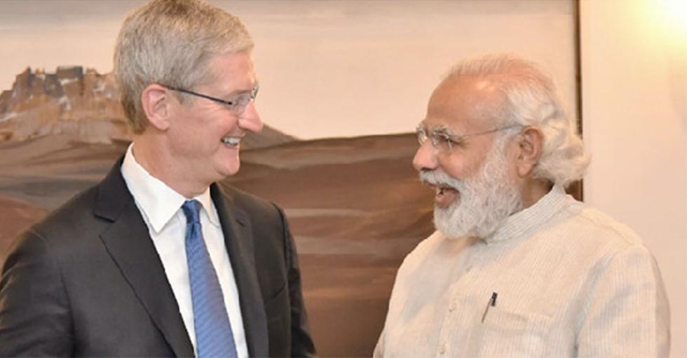 科技大事件:苹果CEO拜访印度首相 欲开拓印度市场
