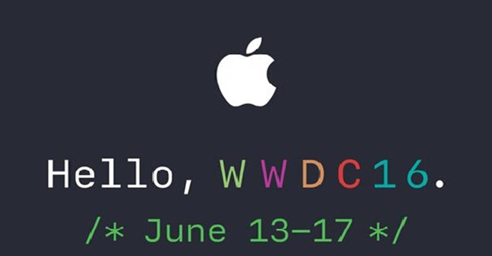 科技大事件:苹果正式发出2016年WWDC发布会邀请函
