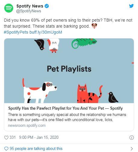 """暖心!音樂公司為寵物打造""""專屬歌單"""" 以緩解孤獨"""